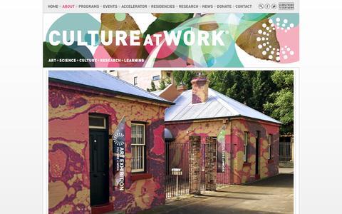 Screenshot of About Page cultureatwork.com.au - CULTURE AT WORK : Culture at Work - captured July 18, 2016