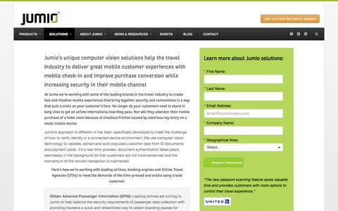 Secure Mobile Check-In - Jumio.com