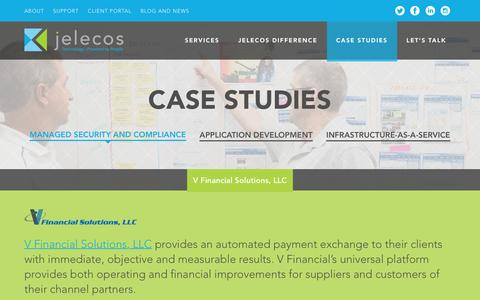 Screenshot of Case Studies Page jelecos.com - Managed Security and Compliance Archives - Jelecos - captured Dec. 22, 2015
