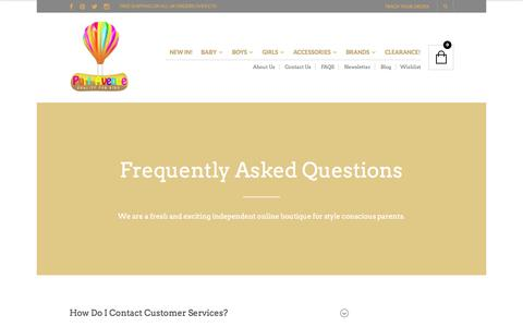 Screenshot of FAQ Page portavenue.co.uk - FAQS - Port Avenue - captured Oct. 28, 2014