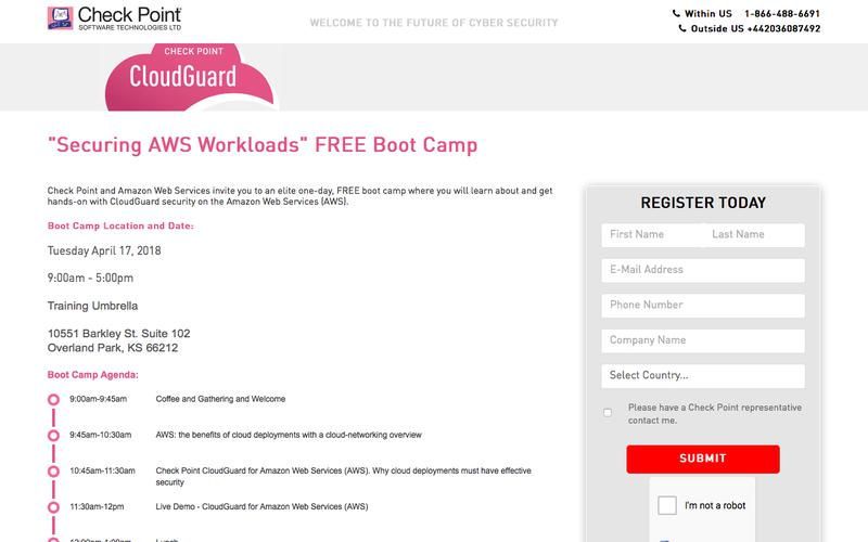 """""""Securing AWS Workloads"""" Boot Camp 
