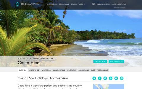 Luxury Holidays Costa Rica | Adventures In Costa Rica