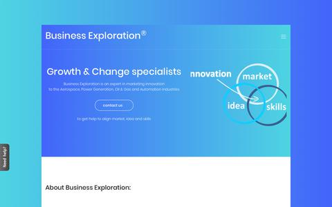 Screenshot of About Page Contact Page business-exploration.com - Contact Business Exploration consulting at +39 02 8719 8498 | Milan - Florence - London - Dubai - captured Oct. 7, 2018