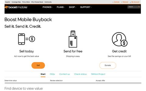 Boost Mobile Buyback