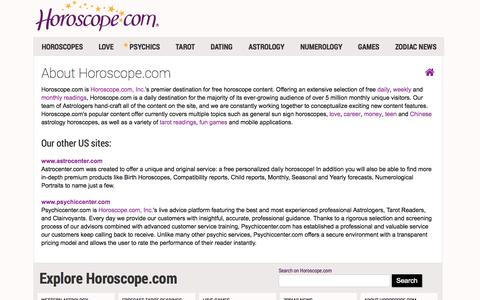 About Horoscope.com