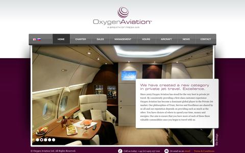Screenshot of Hours Page oxygenaviation.com - Oxygen Aviation - A global leader in Private Jet Travel - captured Oct. 7, 2014