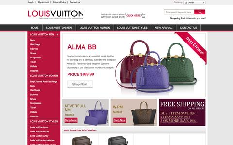 Screenshot of Privacy Page progressmass.org - Privacy Notice : louis vuitton outlet - captured Oct. 27, 2014