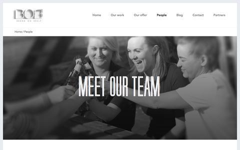 Screenshot of Team Page brandonshelf.com - People   Brand On Shelf - captured Feb. 7, 2016