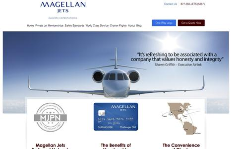 Jet Cards and Charter Flights | Magellan Jets