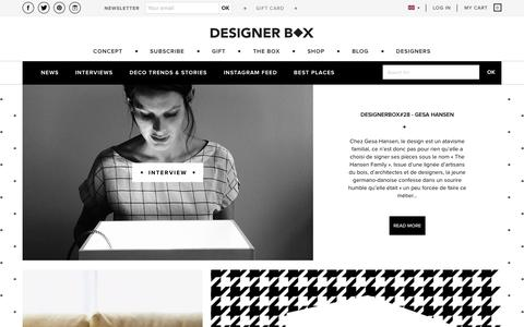 Screenshot of Blog designerbox.com - iconic_news - designer box - captured Oct. 13, 2017