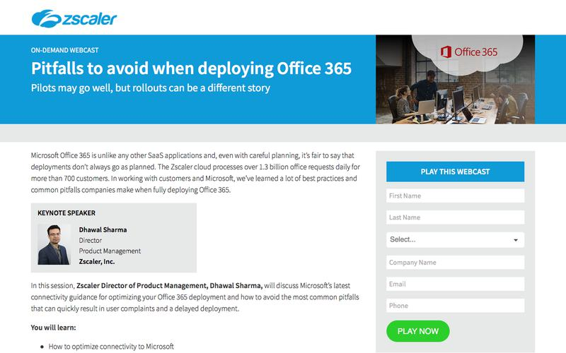 Office 365   Zscaler