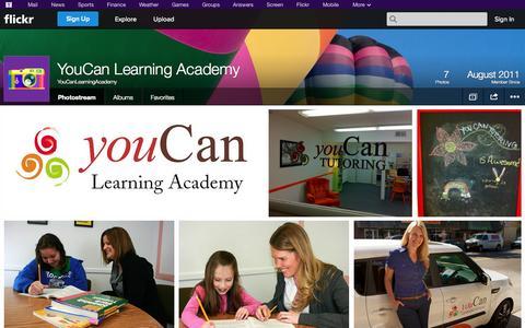 Screenshot of Flickr Page flickr.com - Flickr: YouCanLearningAcademy's Photostream - captured Nov. 3, 2014