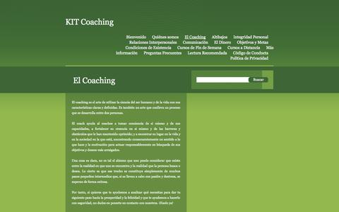 Screenshot of Products Page edicypages.com - KIT Coaching  | El Coaching - captured Sept. 19, 2014