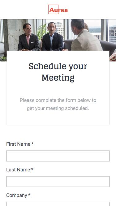 Welcome Meeting Request | Aurea