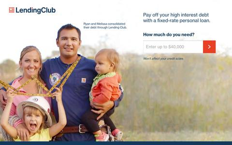 Lending Club | Need a Loan? Get a Low Rate!
