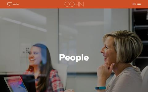 People - COHN Marketing