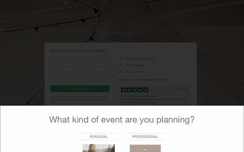Screenshot of Signup Page greenvelope.com - Sign Up | Greenvelope.com - captured Sept. 6, 2016