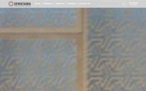 Screenshot of About Page sewatama.com - Leading Power Solution Provider - Sewatama - captured Jan. 23, 2016