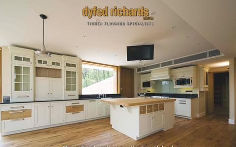 Screenshot of Services Page dyfedrichardsltd.co.uk - Our craft and passion is creating beautiful and unique real wood floors of the finest quality. | Dyfed Richards - captured Feb. 9, 2016
