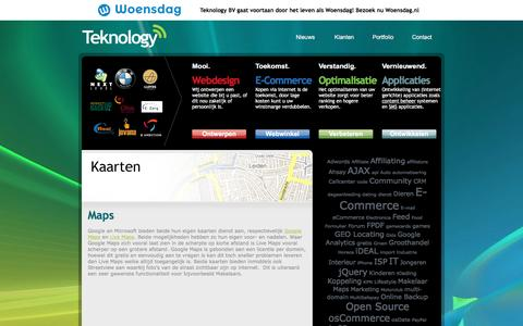 Screenshot of Maps & Directions Page teknology.nl - Maps Archives » Teknology BV  Internet en Marketing bureau - Teknology BV - captured Dec. 13, 2016