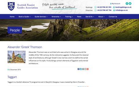 Screenshot of Team Page stga.co.uk - People Archives - Stga - captured Sept. 1, 2016