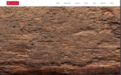 Screenshot of Home Page mahala.us - MAHALA | Home - captured Oct. 4, 2014