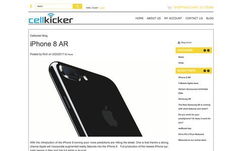 Screenshot of Blog cellkicker.com - Blog - Cellkicker - captured May 15, 2017