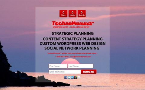 Screenshot of Home Page technomomma.com - Home | TechnoMomma - captured Sept. 30, 2014