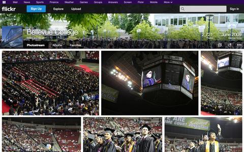 Screenshot of Flickr Page flickr.com - Flickr: Bellevue College's Photostream - captured Oct. 22, 2014