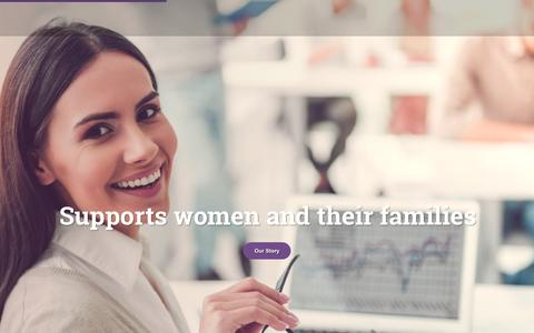 Screenshot of Home Page iwontario.com - Home - Iranian Women's Organization Of Ontario - captured Oct. 12, 2018