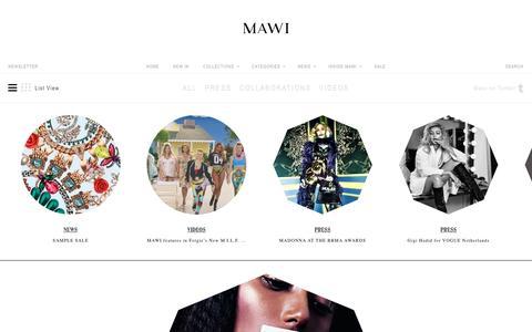 Screenshot of Blog mawi.co.uk - News - captured May 26, 2017