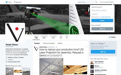 Virtek Vision (@VirtekVision) | Twitter