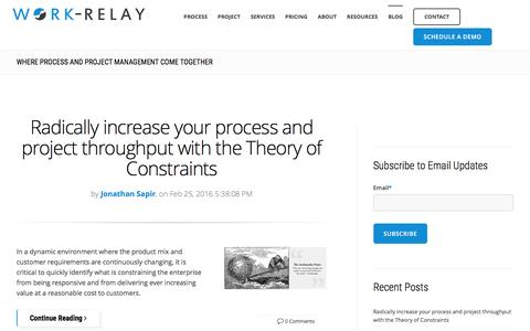 Screenshot of Blog work-relay.com - Work-Relay Blog - captured Feb. 26, 2016