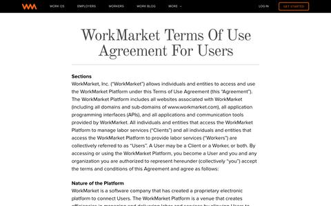 WorkMarket: Your OS for Work | WorkMarket