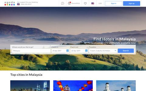 Malaysia Hotels - Online hotel reservations for Hotels in Malaysia