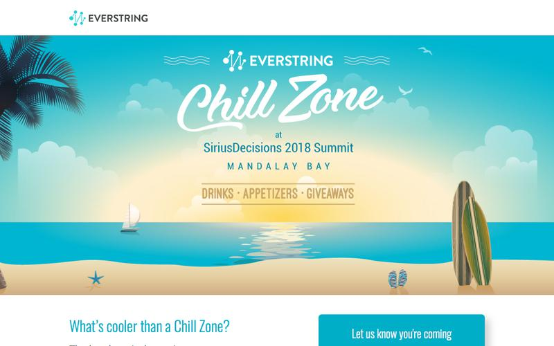 EverString Chill Zone at SiriusDecisions