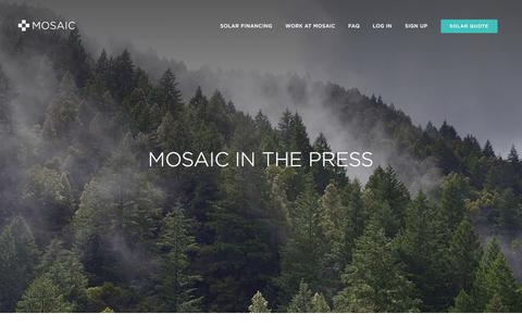 Mosaic in the Press