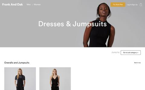 Dresses & Jumpsuits | Frank And Oak