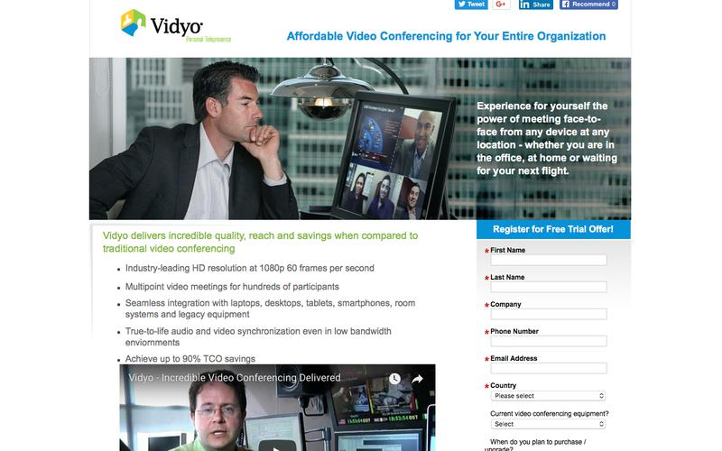 See how natural, affordable and universal video conferencing can give your organization a competitive edge.