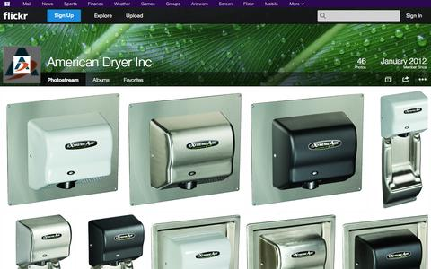 Screenshot of Flickr Page flickr.com - Flickr: American Dryer Inc's Photostream - captured Oct. 22, 2014