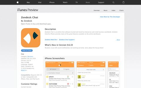 Zendesk Chat on the App Store