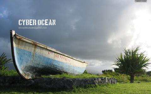 Screenshot of Home Page cyber-ocean.com - Cyber Ocean - captured Sept. 30, 2014