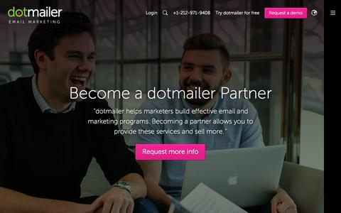 Email Marketing Reseller & Agencies Need Look no Further | dotmailer
