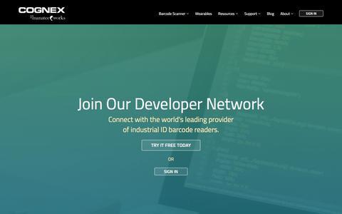 Screenshot of Developers Page manateeworks.com - Developer Network | Barcode Scanner SDK | Manatee Works - captured Oct. 5, 2017