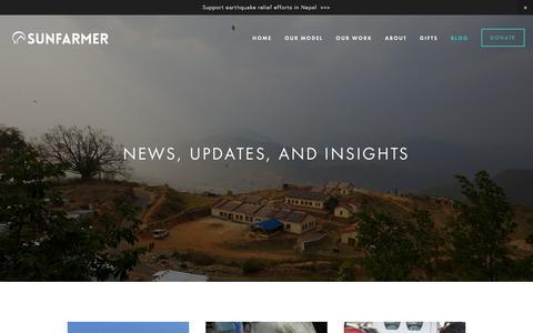 Screenshot of Blog sunfarmer.org - Blog Ń SunFarmer - captured Jan. 12, 2016