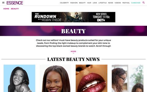 Black Beauty Tips, Beauty Products for Black and African American Women | Essence.com
