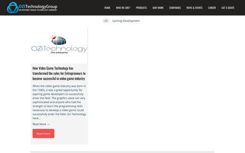 Screenshot of Blog ozitechnology.com - Blog - OZI Technology Group - captured Oct. 19, 2018