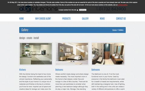 Screenshot of Services Page aloninteriors.co.uk - Alon Interiors :: Gallery - captured Oct. 4, 2014