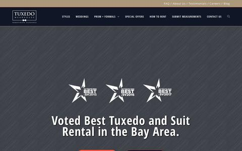 Tuxedo Wearhouse | Suits & Tuxedo Rental in San Jose and Milpitas