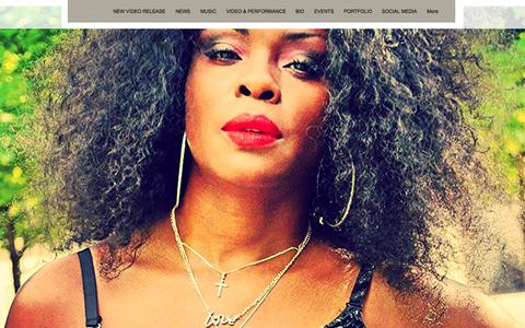 Screenshot of Home Page colejonique.com - Cole Jonique Music & Entertainment - captured Oct. 17, 2015